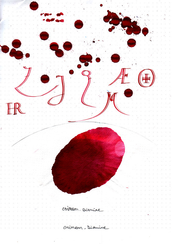 Diamine Crimson-2