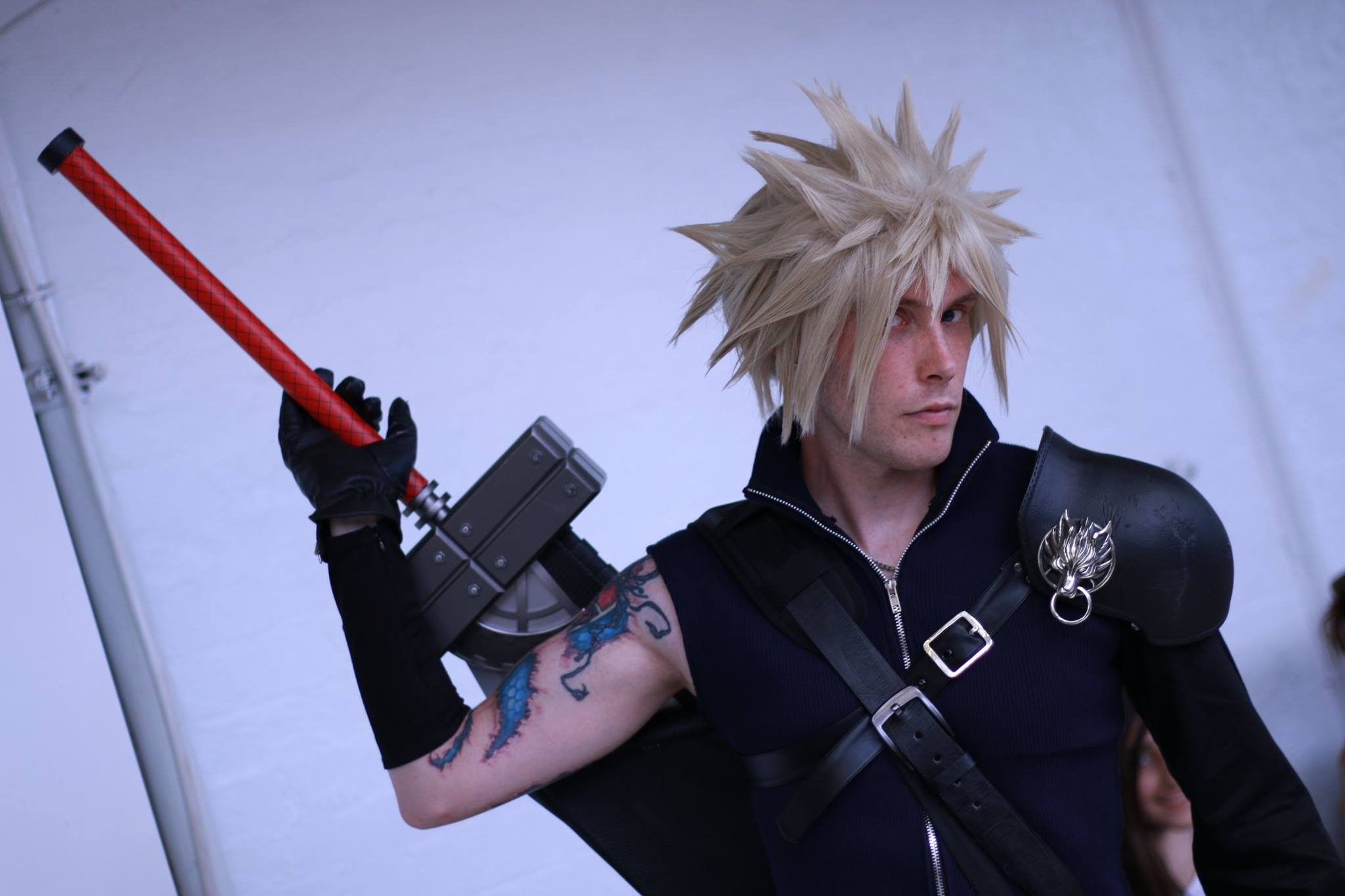 Advent Children Cloud Cosplay