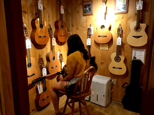 Ana in the Guitar Room (August 10 2015)
