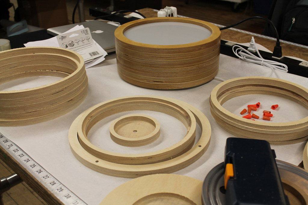 Building Turn Table Lamps