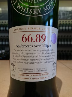 SMWS 66.89 - Sea breezes over Lilliput