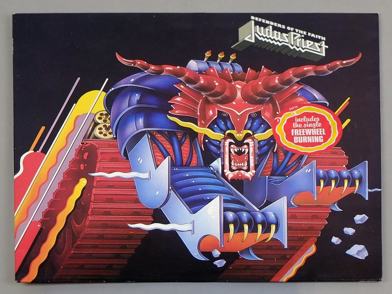 "JUDAS PRIEST DEFENDERS OF THE FAITH 12"" LP VINYL"