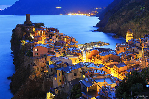 Vernazza at Night
