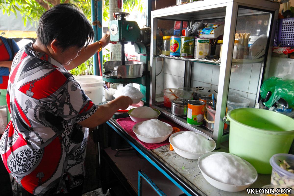 Fei Ma Shaving Ice Dessert