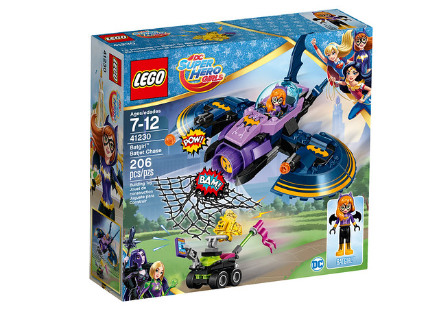 LEGO DC Super Hero Girls 41230 - Batgirl Batjet Chase