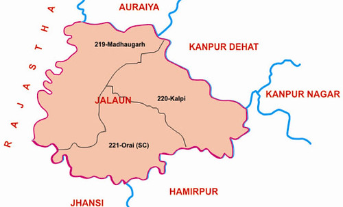 Jalaun district Uttar Pradesh Election 2017
