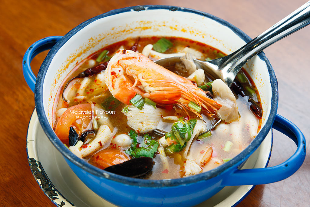 KomPassion Thai seafood tom yum