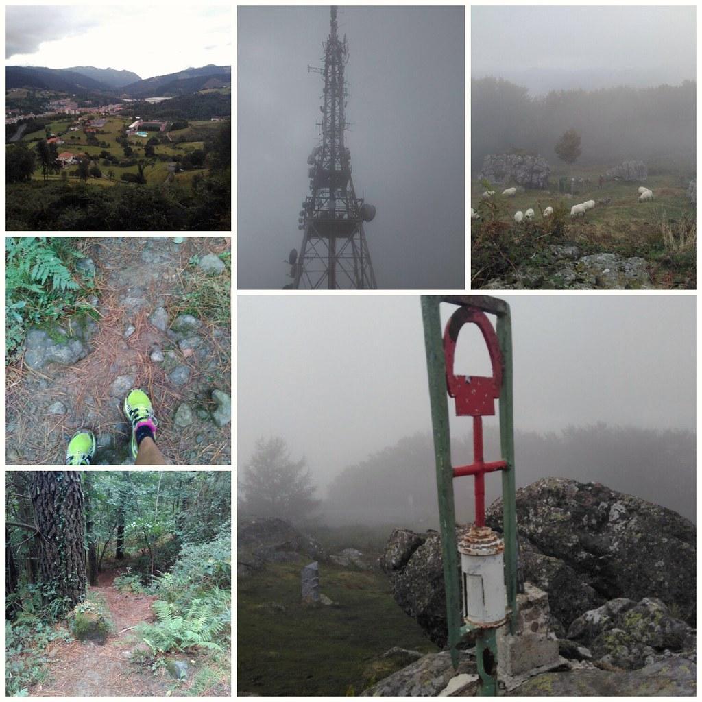 Volvemos a subir a Karakate. Retomamos monte entre semana