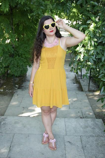 sorbet_citron_fraise_comment_porter_robe_jaune_blog_mode_la_rochelle_1