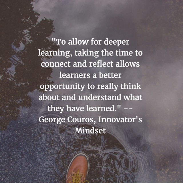 From Innovator's Mindset