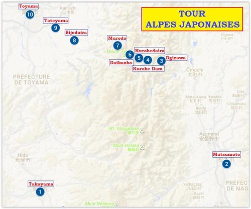 Tour-Alpes Japonaises