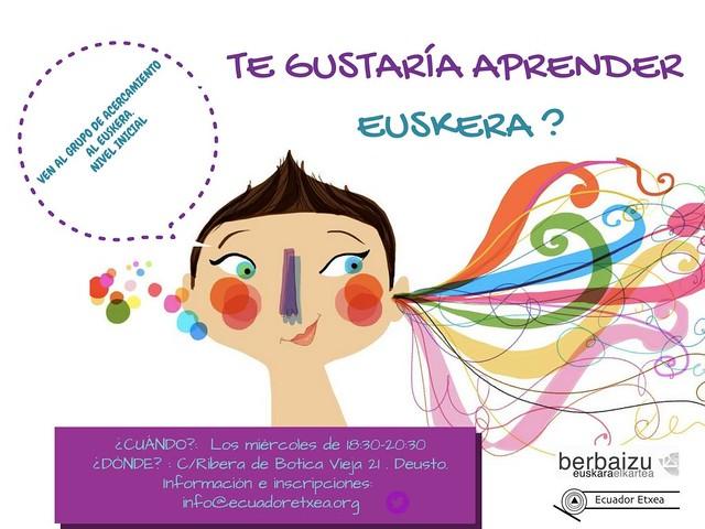 Ekuador Etxea- euskara klaseak