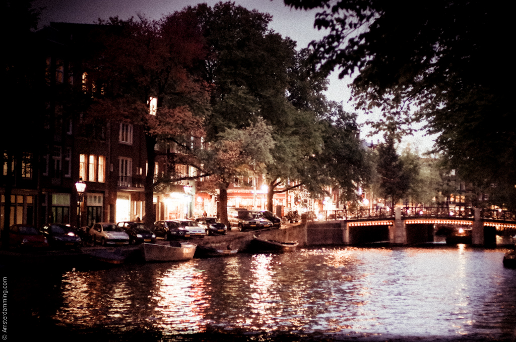 Amsterdam, Prinsengracht by Night