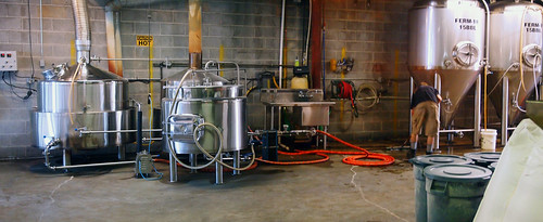 Working brewhouse