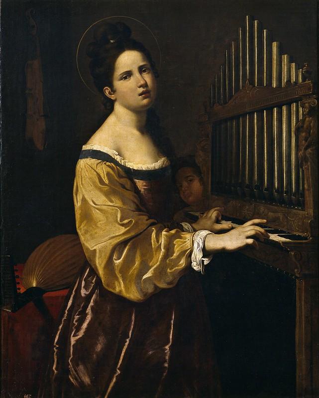 Antiveduto Grammatica - S. Cecilia, XVI-XVII sec