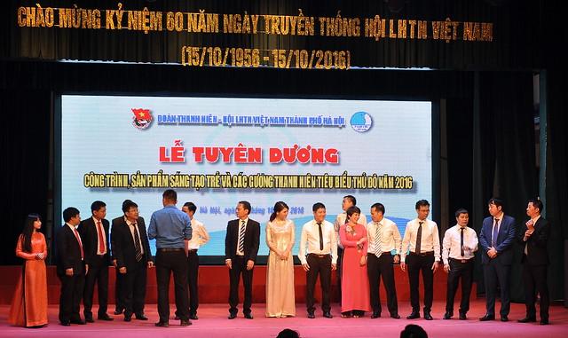 Doanh nhân trẻ tiêu biểu Thủ đô năm 2016