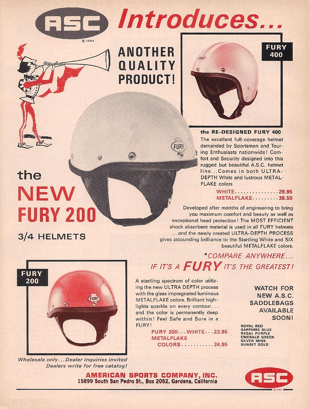 American Sports Company helmets