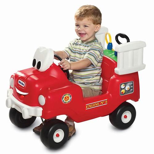 Little Tikes Fire Truck Carro Bomberos Coche Paseador Bebes 1