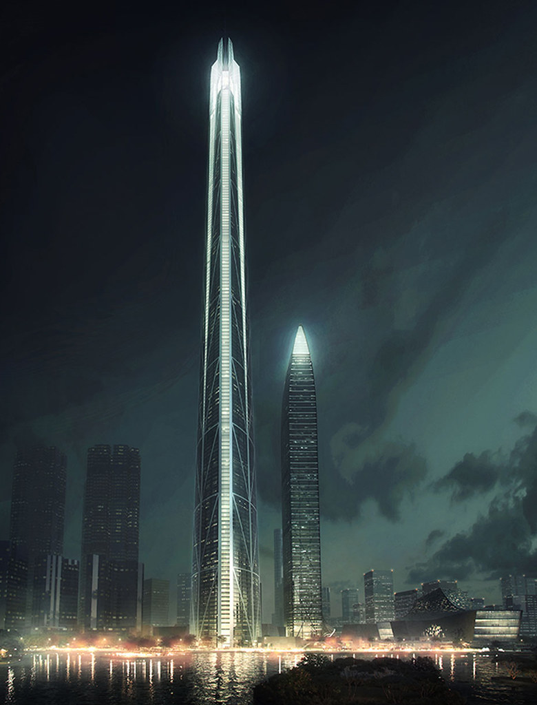 H700 Shenzhen Tower: самая высокая башня в Китае