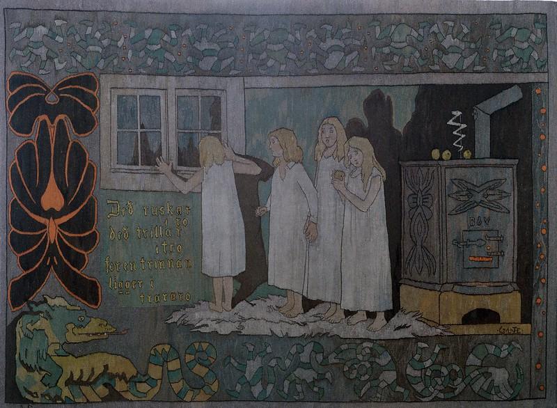 Gerhard Munthe - Tapestry, 1906