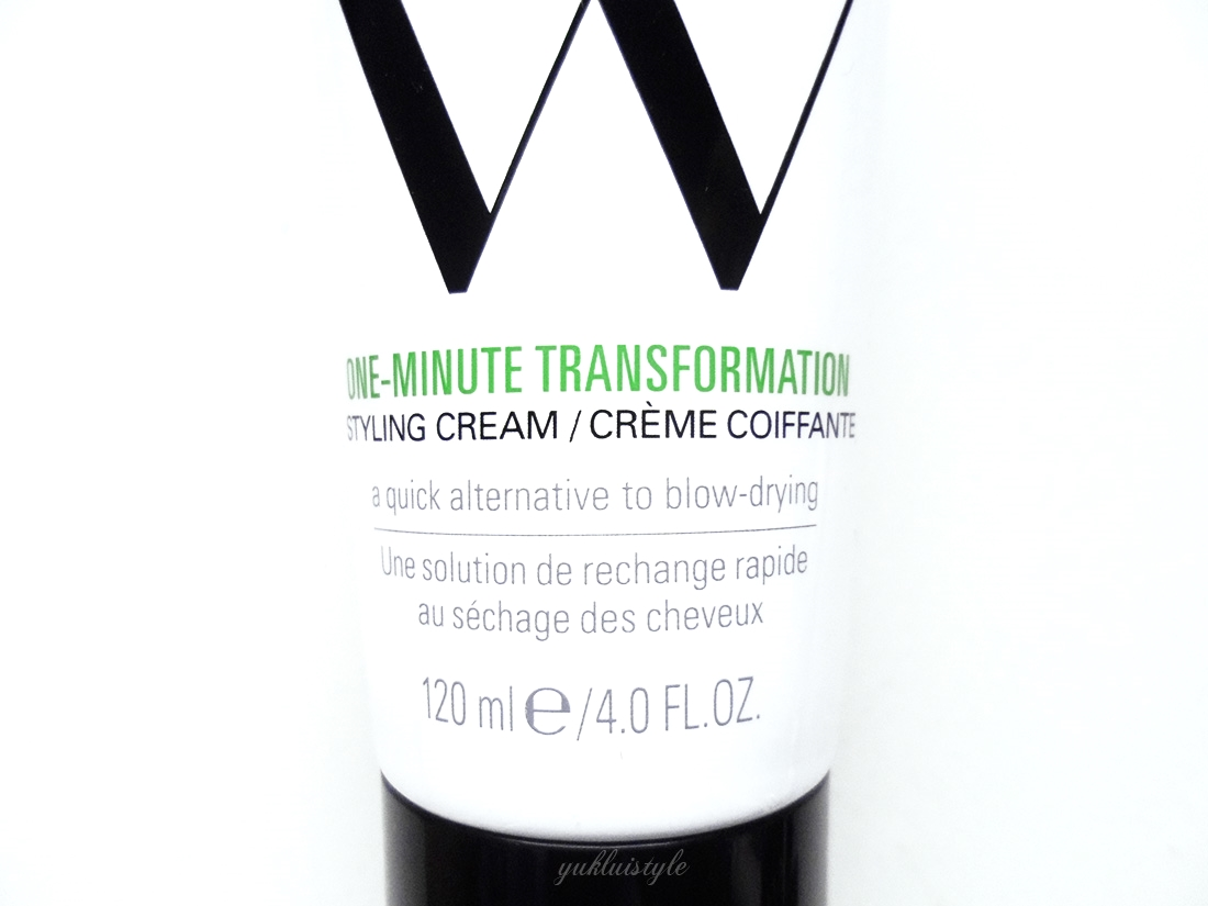 Color Wow One Minute Transformation Styling Cream review