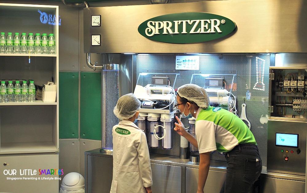 Kidzania Spritzer 2