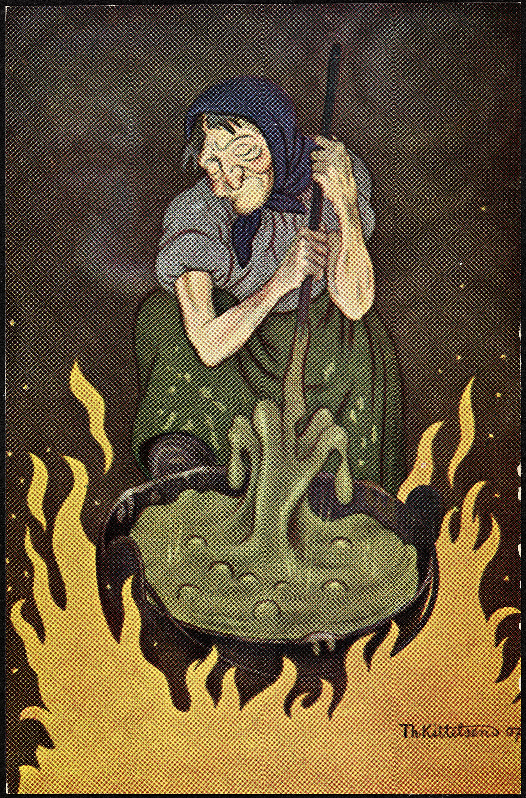 Theodor Kittelsen - Trollkjerring, 1907