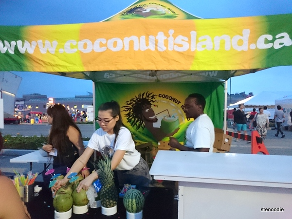 Coconut Island drink stand