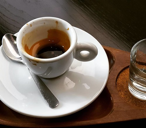 One more sip. #caffedbolla #slc #espresso