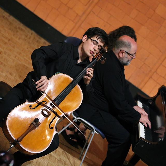 DAVID MARTÍN GUTIÉRREZ, VIOLONCELLO & MIGUEL ÁNGEL ORTEGA CHAVALDAS, PIANO - CICLO AIE CLÁSICOS EN RUTA - LEÓN 28 DE JUNIO´16