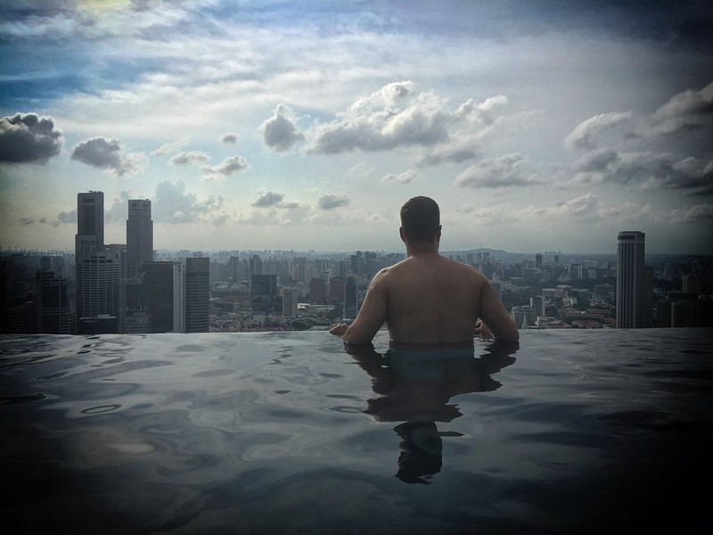 Marina Bay Sands Hotel Infinity Pool