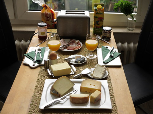Frühstück am Feiertag