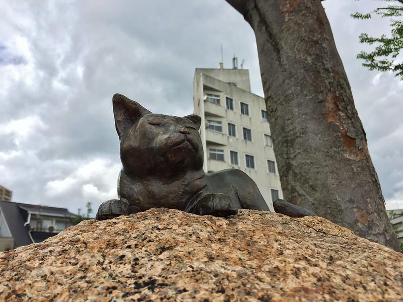 夏目漱石の碑 #5