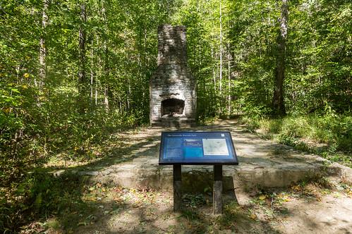 Picnic shelter ruins - 2