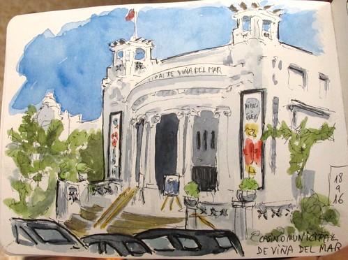 Casino Municipal. Viña del Mar. Chile