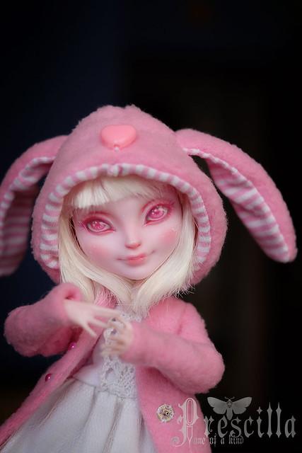 Custom Bunny Blanc OOAK Repaint