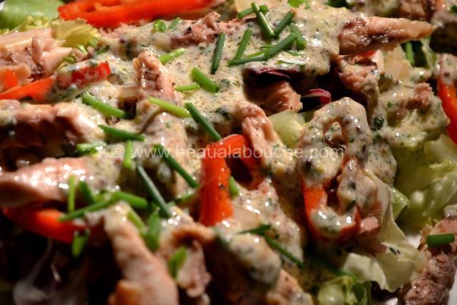 Salade de Filets de Maquereaux Sauce Moutarde © Ana Luthi Tous droits réservés 005