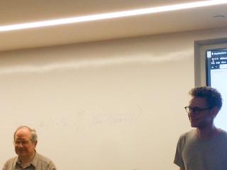 David introduces Gerald Jay Sussman
