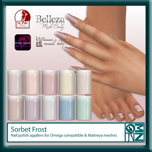 Sorbet Frost for november round of Designer Showcase