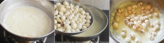 How to make Makhana Kheer Recipe - Step5