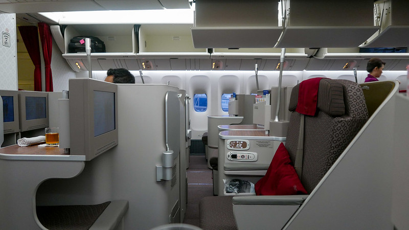 28337194622 780df6478e c - REVIEW - Garuda Indonesia : Business Class - Bali to Jakarta (B77W)