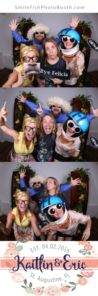 Villa Blanca St. Augustine Wedding Photo Booth