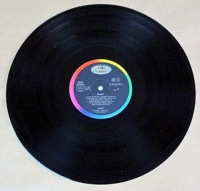 "HEART 2 S/T SELF-TITLED 12"" LP VINYL"