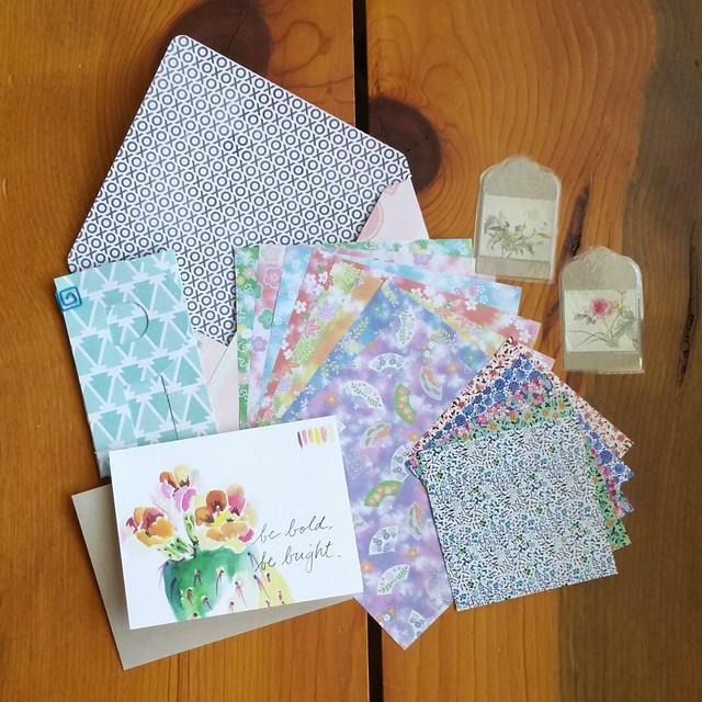 Pretty Postal Floral Swap 2016 - Sent | shirley shirley bo birley Blog