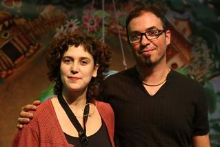 Marta Gorchs i Carles Cuberes a Castelldefels