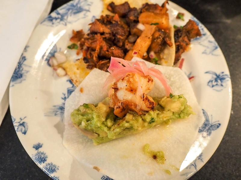 Tacos at La Bodega Negra