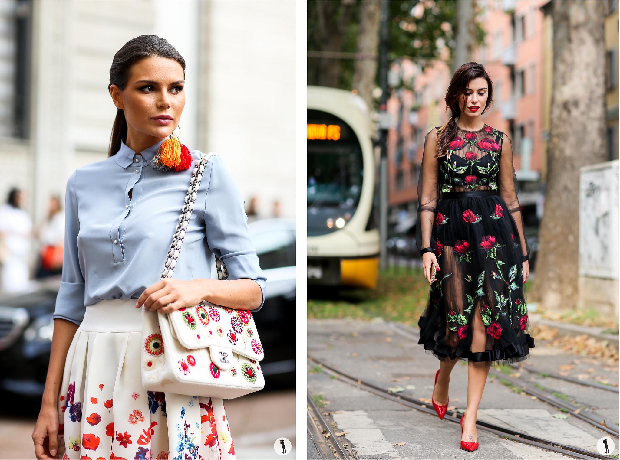 Street style, Milan Fashion Week SS16