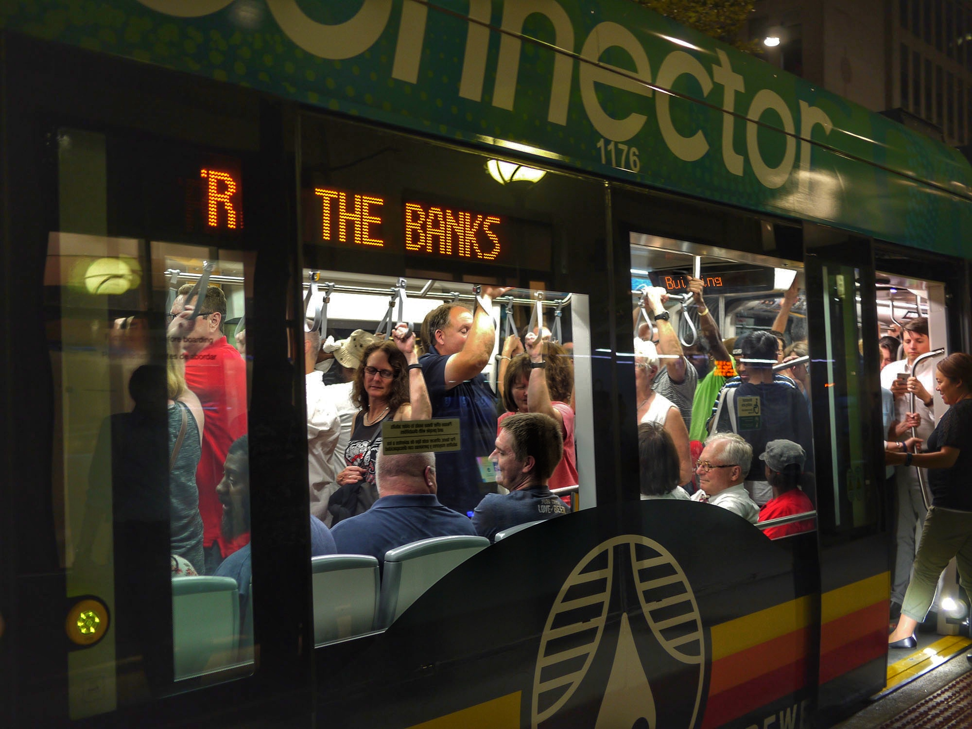 Streetcar Grand Opening weekend.