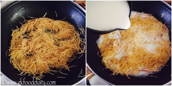 Sweet Vermicelli Recipe for Toddlers and Kids - step 2