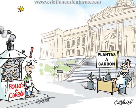 A carbón